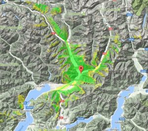 Copertura HB9FIK-R Ardebo (Swiss)