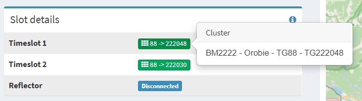 Cluster Orobie sul Time Slot 1