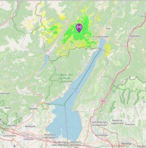 Copertura IR3UCD-L Val di Ledro (TN)